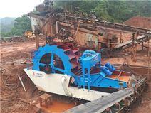 供应新型轮式洗沙机 砂石料洗选脱水设备