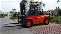 华南重工重型叉车12吨港口码头石材物流运输
