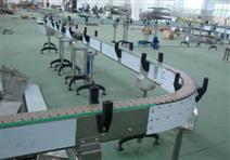 单列链板输送机