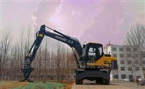 国产挖掘机抓木机买哪个牌子好?