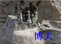 取代膨胀剂取代爆破开采矿山岩石劈裂机