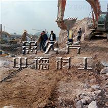 桂林柳州液压电动柴动岩石破碎液压分裂机