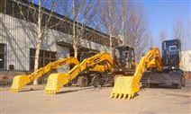 轮式挖掘机带抓木机市场需求量暴增