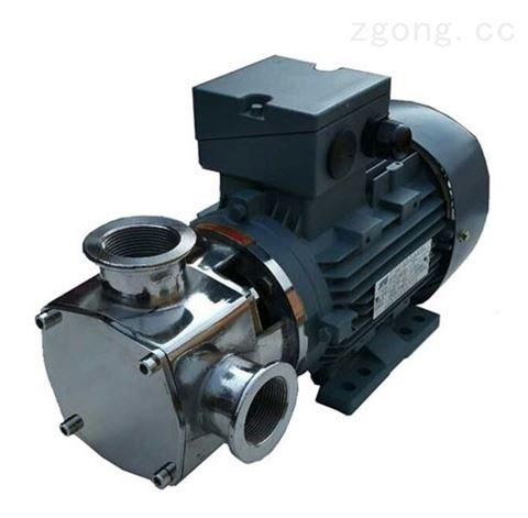 小型不锈钢无堵塞自吸泵