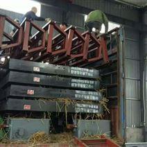 貴州重晶石分選小槽鋼搖床 6S搖床選礦設備