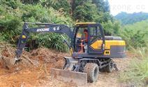 膠輪式挖掘機好還是履帶挖機好