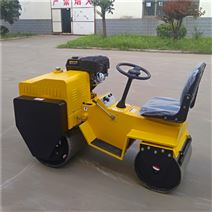 小型雙鋼輪座駕式壓路機