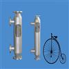 纯水杀菌消毒卫生级双管板换热器