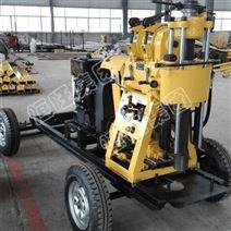 轮式拖车打水井钻机HW-230X打井机价格优惠