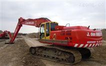 山東神鋼sk400挖掘機加長臂批發代理