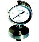 防腐膜片式压力表