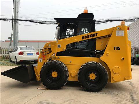 公路市政工程机械滑移装载机清雪车