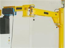 小型起重机立柱式折臂吊