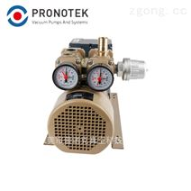 小型无油旋片式真空泵