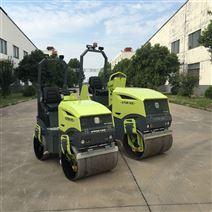 1.8吨全液压双轮双震小型压路机 工程机械
