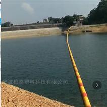 大跨度河道拦污浮筒型号 拦截水草浮筒