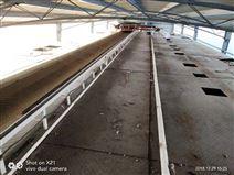 食品厂悬挂输送线米厂卸料流水线遥控输送机
