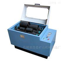 化验选矿 干湿式棒磨两用机 多筒磨矿设备