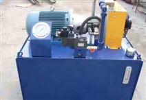 立式電機液壓控制系統