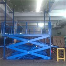 剪叉式升降貨梯1