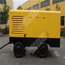電動移動式螺桿空壓機產品介紹 山東中煤 無