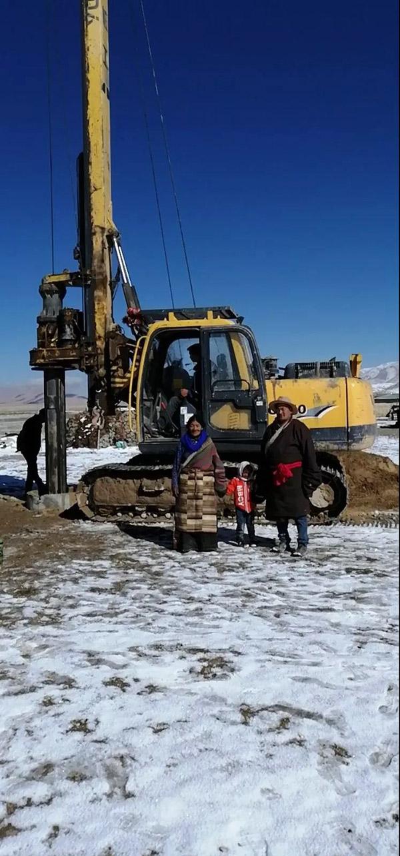 玉柴桩工YCR50小型旋挖钻机挑战施工极限获点赞